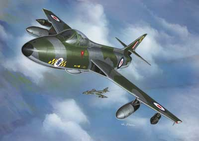 Hawker Hunter FGR.9